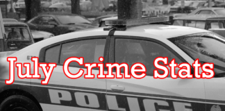 July Crime Stats Miami Springs Police