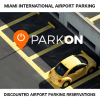 ParkOn.com Airport Parking Miami