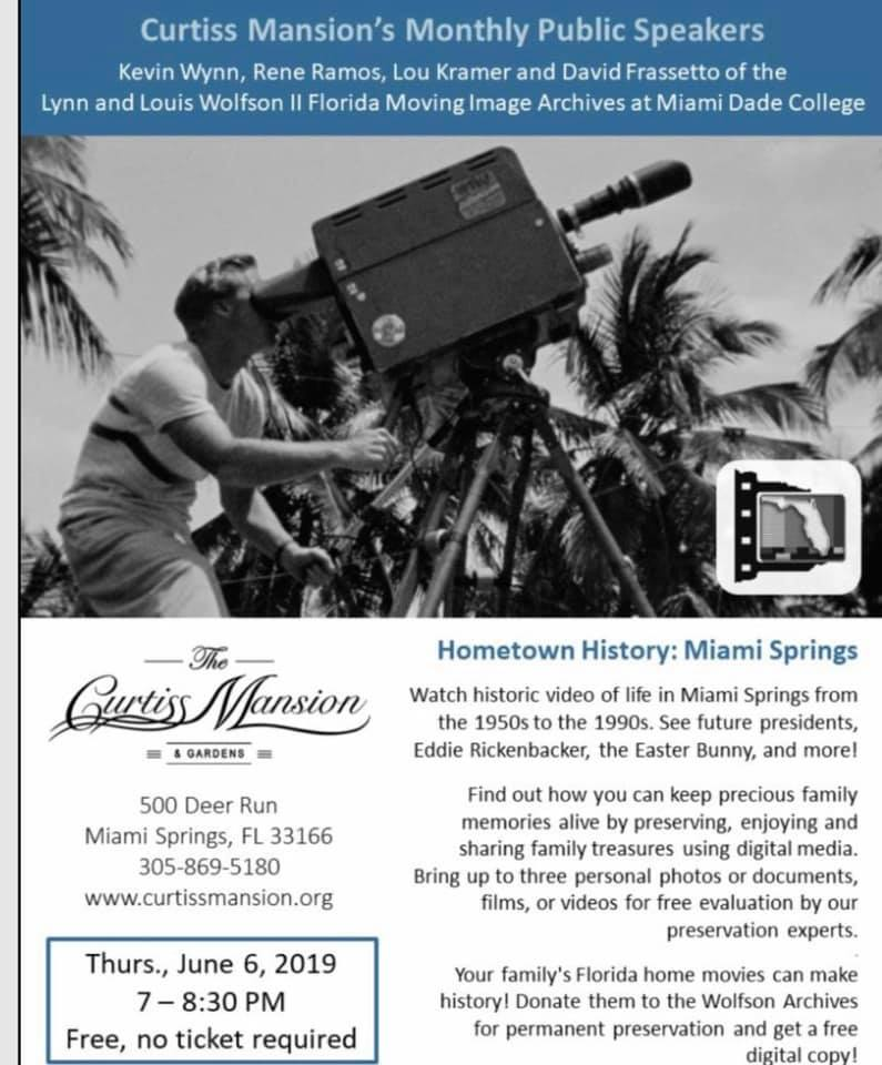 Wolfson Archives Hometown History Miami Springs