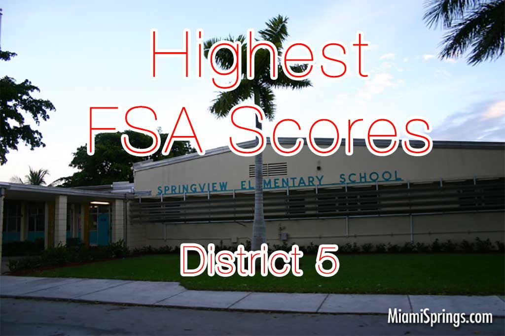 Springview Elementary Scores Highest FSA in District
