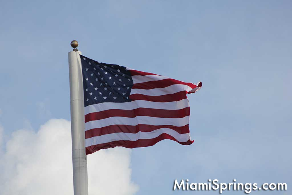 Miami Springs Flag
