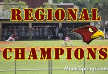 Miami Springs Senior High - Regional Champs