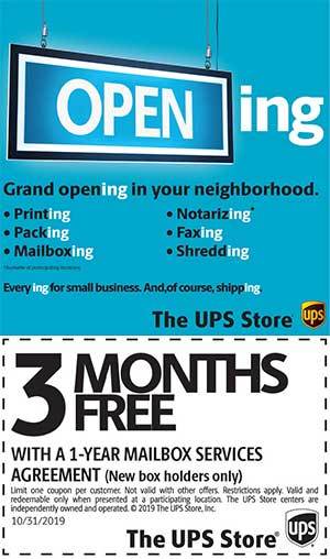 The UPS Store now open in Miami Springs