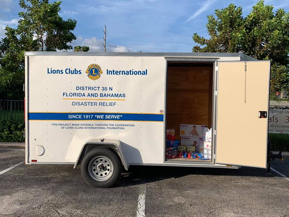Lions Club International Disaster Relief Drive