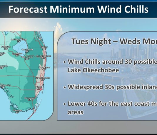 Cold Weather Coming Tuesday Night / Wednesday Morning