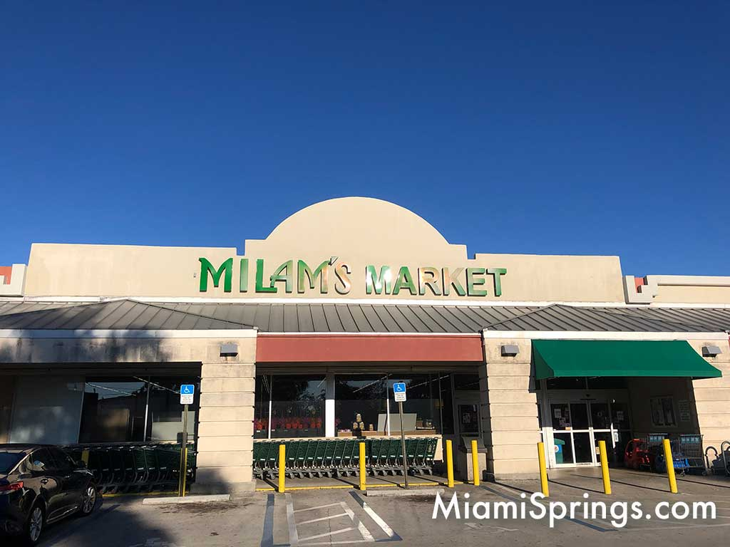 Milam's Markets in Miami Springs