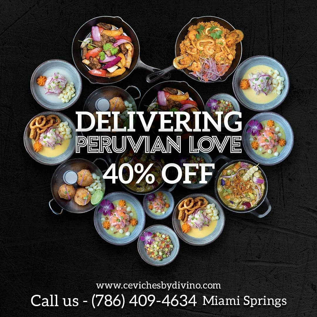 Ceviches by Divino Miami Springs Delivery