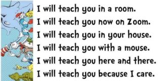 I will teach you now on Zoom