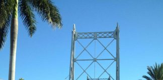 Miami Springs Vertical Lift Bridge
