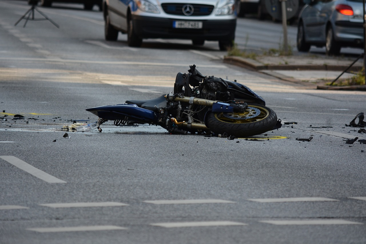 File photo of Motorcycle Accident.