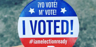 I voted in Miami-Dade County