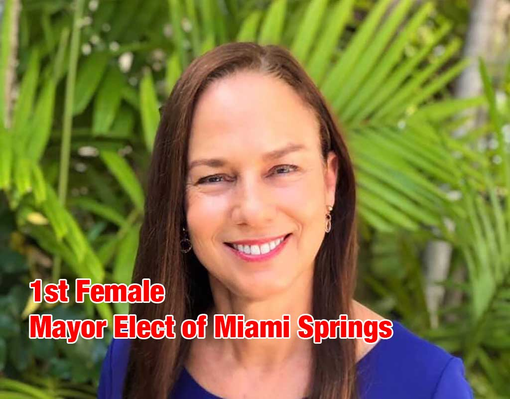 1ast Female Mayor Elect of Miami Springs