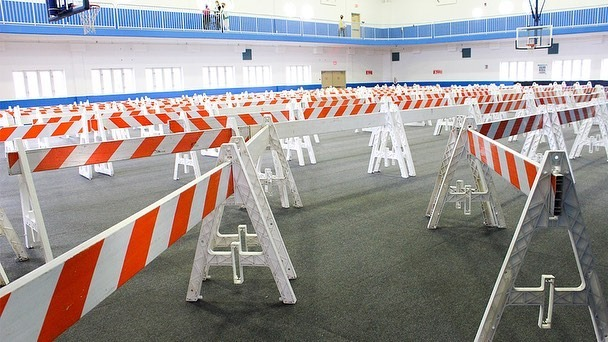 FEMA COVID-19 Vaccine Site at the Miami Springs Rec Center - Photo courtesy City of Miami Springs