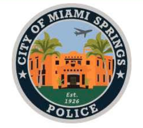 City of Miami Springs Police Seal