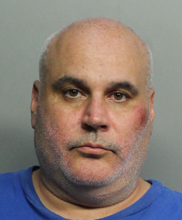 Celio Garcia was arrested by MSPD. Photo Credit: Miami-Dade County Corrections