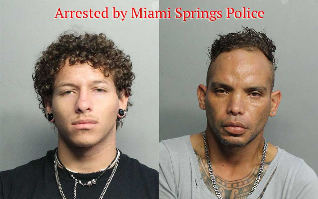 Arrested by Miami Springs Police