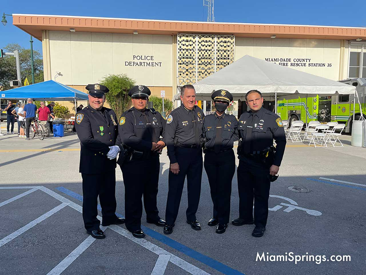 Miami Springs and Medley Police