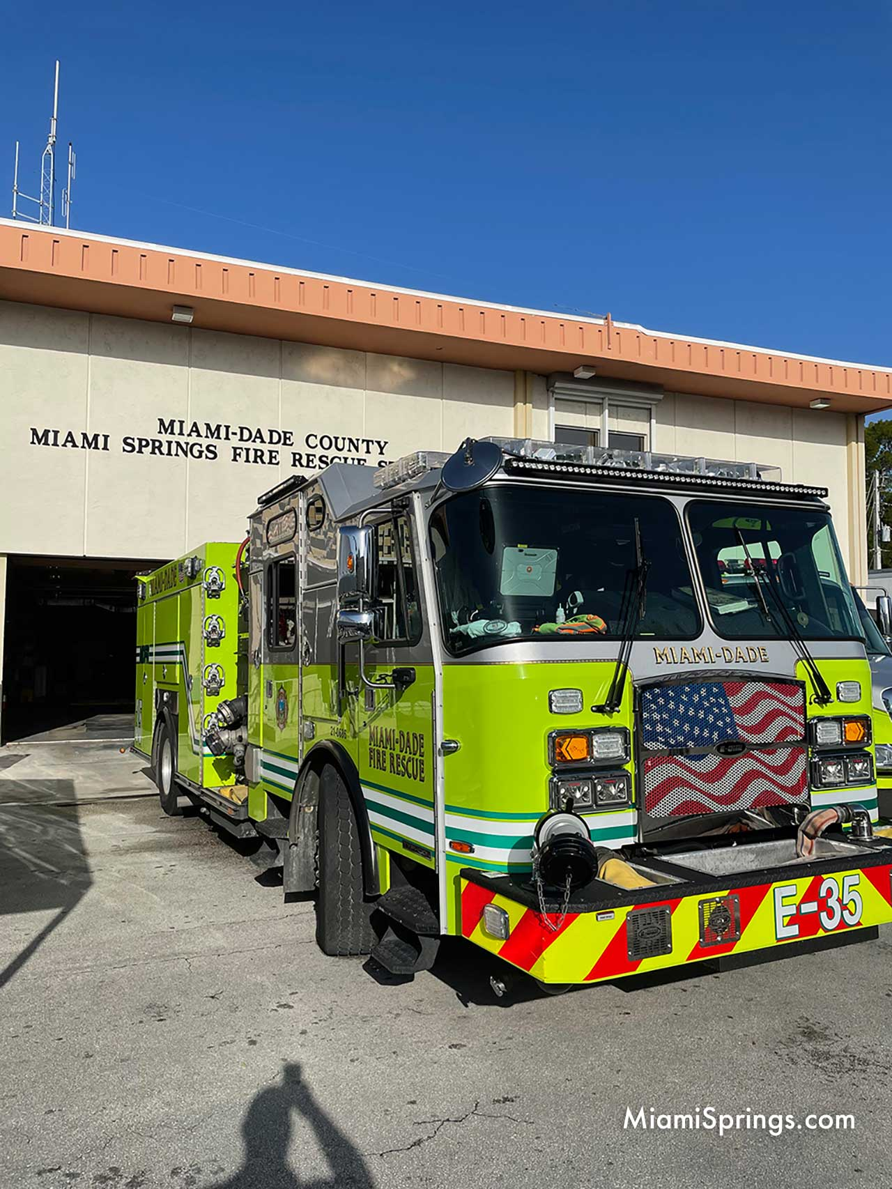 Fire Truck from Miami-Dade Fire Station #35