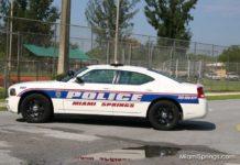 Miami Springs Police Cruiser