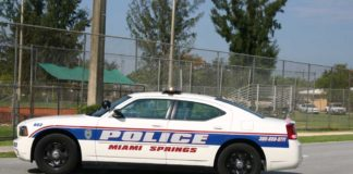 Miami Springs Police Cruiser