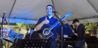 Father Alfaro rocks