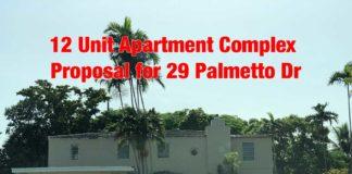 Palmetto Drive Apartment Proposal