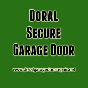 Doral Secure Garage Door