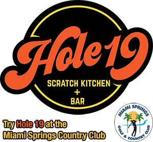 Hole 19 Scratch Kitchen + Bar at the Miami Springs Country Club