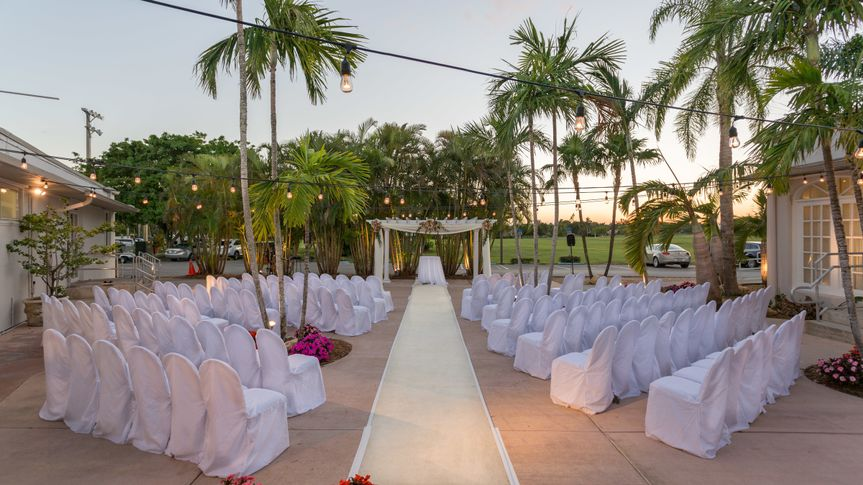Miami Springs Golf and Country Club Wedding