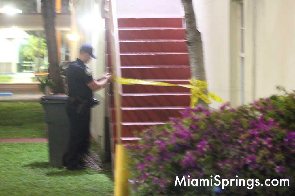 Miami Springs Police Tape