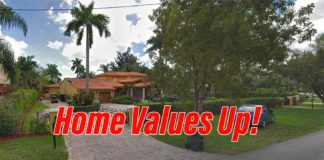Home Values Up in Miami Springs