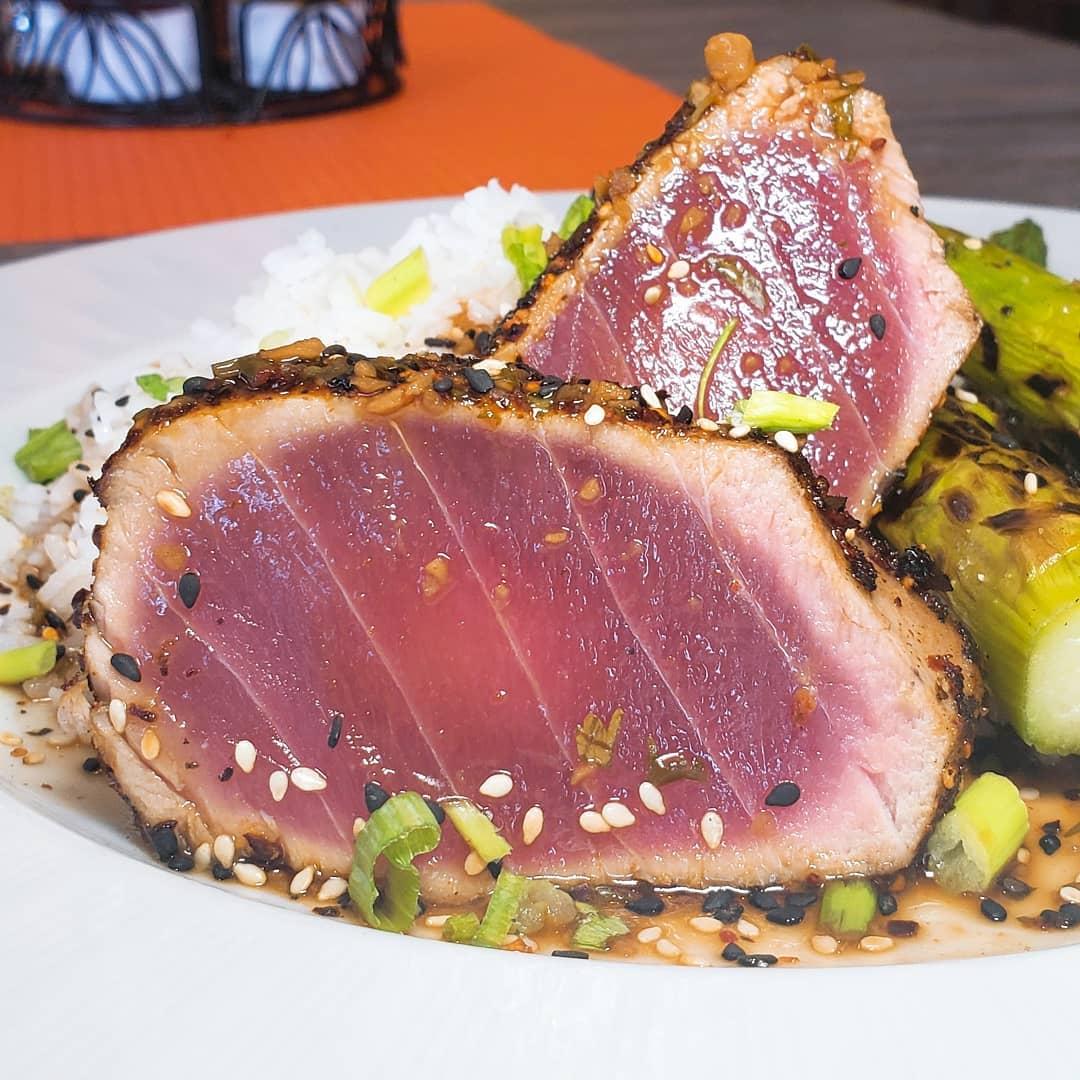 Togarashi Seared Tuna Filet