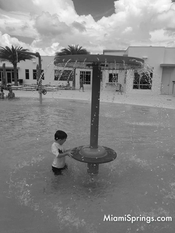 Miami Springs Pool Kiddie Splash Area