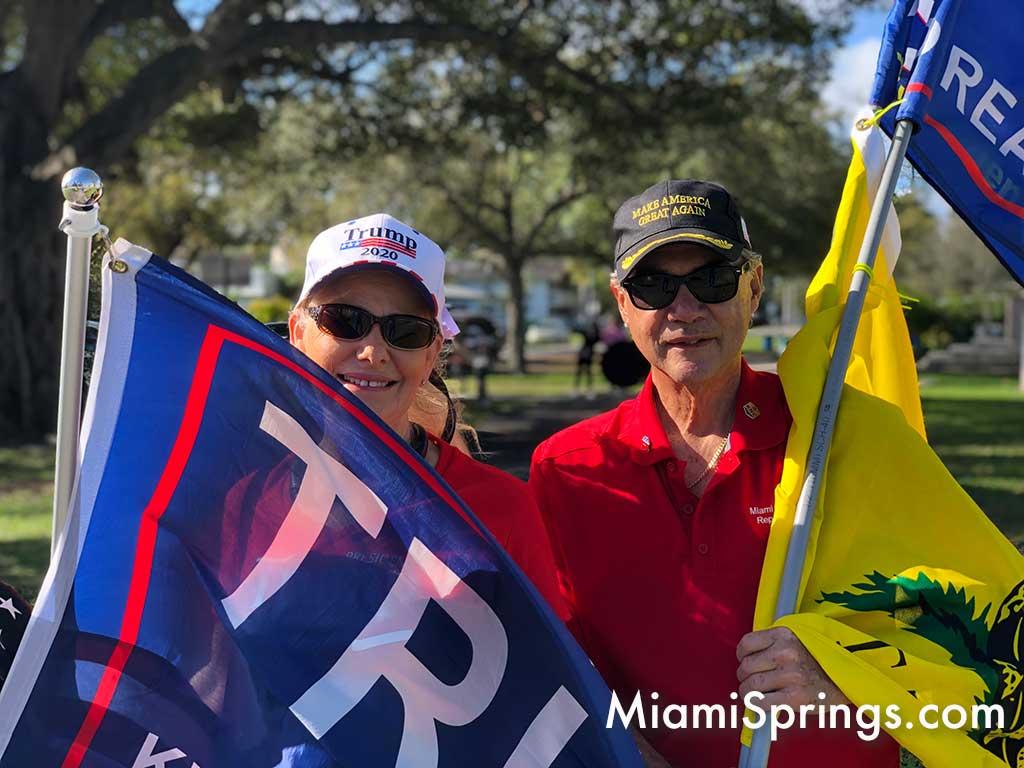 Miami Springs Republican Club Sunday Rally