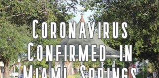 Coronavirus Confirmed in Miami Springs