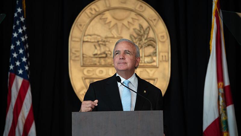 Miami-Dade County Mayor Gimenez
