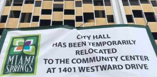 City Hall Temporarily Closed