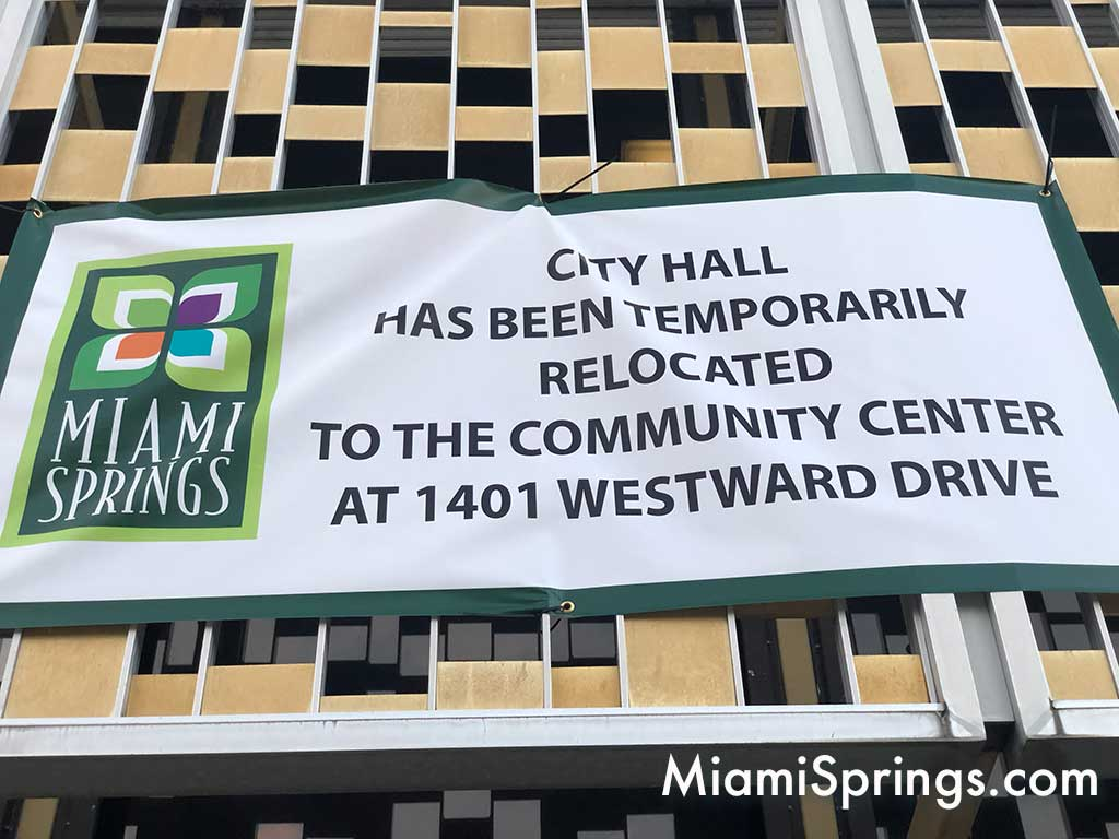 City Hall Temporarily Closed