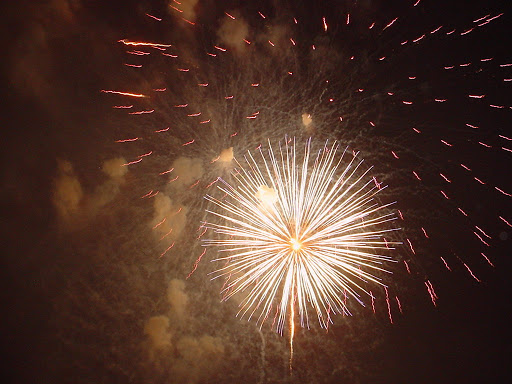 July 4th Fireworks at the Miami Springs Golf Course