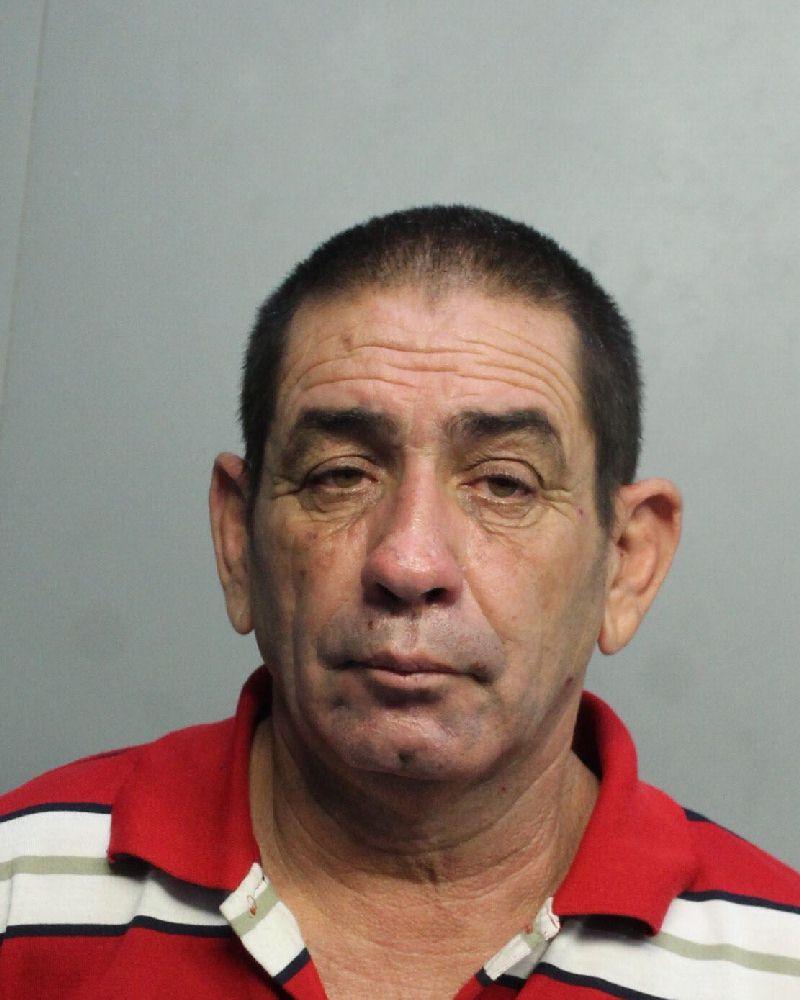 Booking photo by Miami-Dade Corrections of Eddy Enrique Nuñez