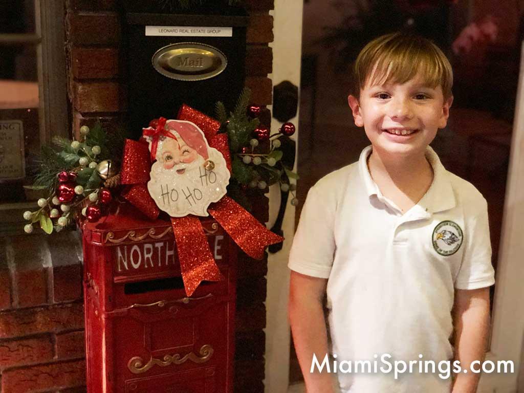 Sebastian Suarez Santa's Mailbox