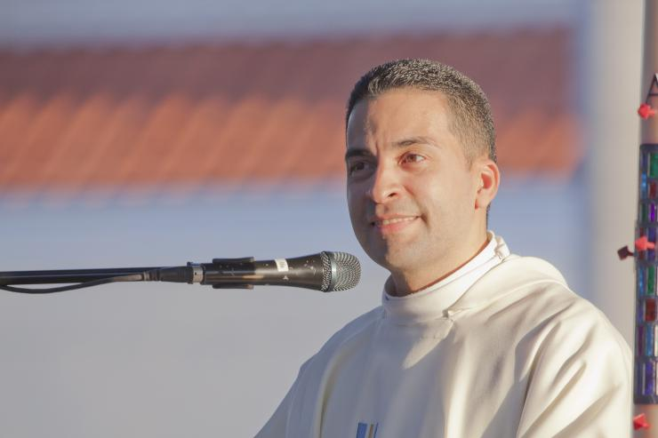 Father Alfaro of Blessed Trinity - Photo credit:  Miami Archdiocese