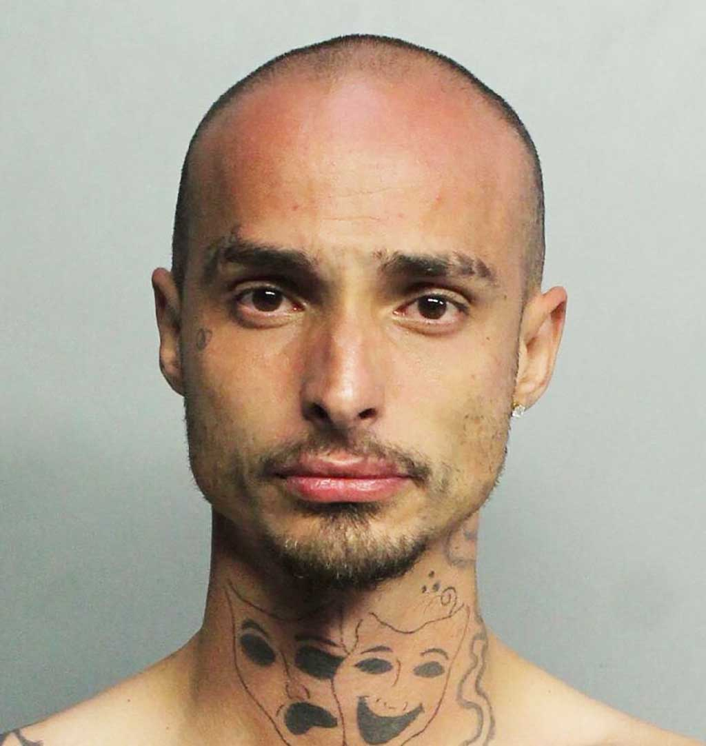 Arrested for allegedly burglarizing and occupied Miami Springs home:  Jose Lazaro Sanchez