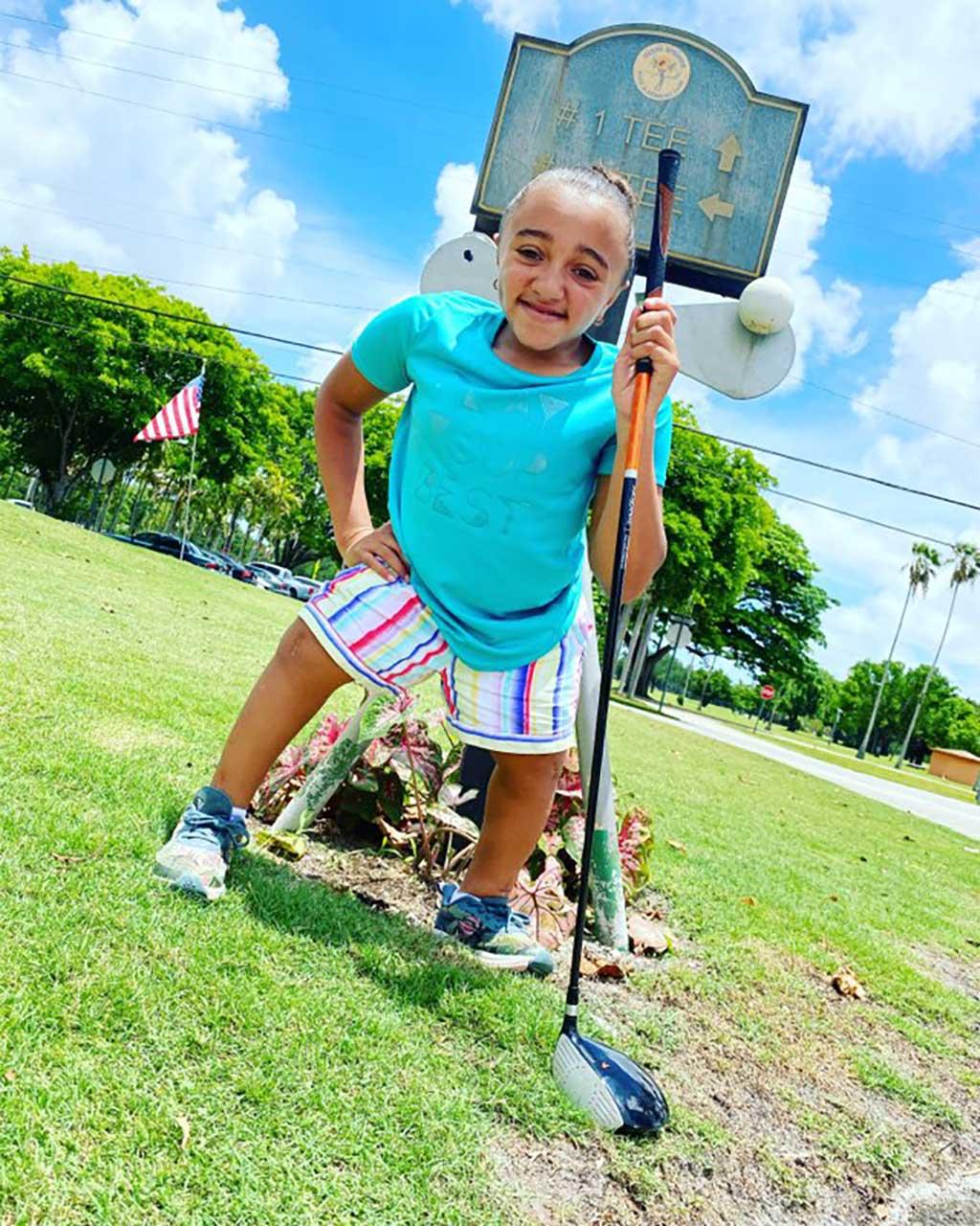 Amariah Joy fights through Brittle Bone Disease at the Country Club