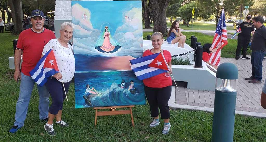 Photo courtesy Arleen Moro Vazquez via the Miami Springs Community Facebook Group.