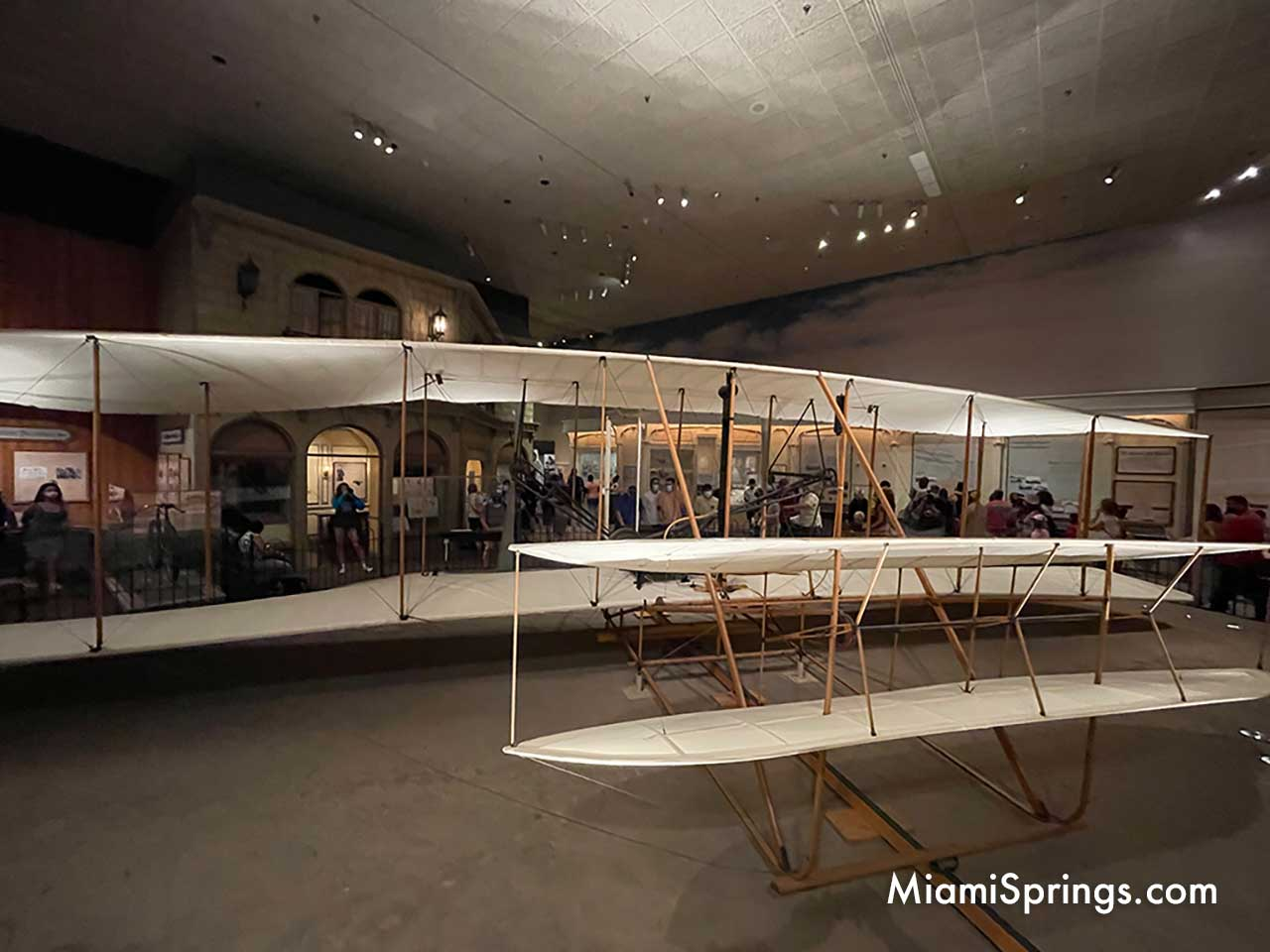 Original Wright Flyer as displayed at the Smithsonian Air and Space Museum in Washington DC