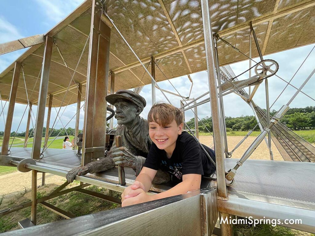 The Wright brothers inspiring a new generation.