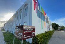 Mural at UTD Headquarters on 36th Street violates Miami Springs Code