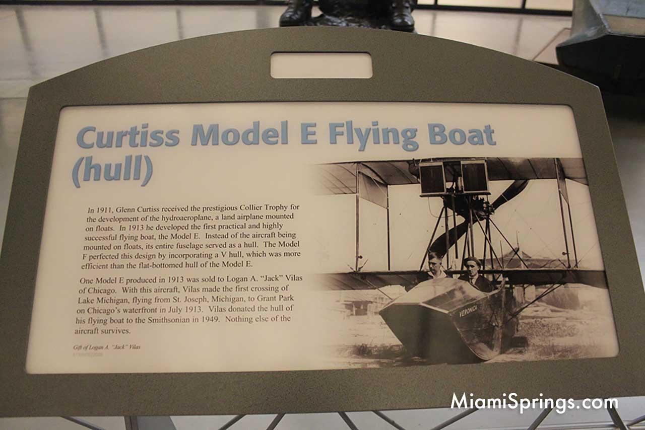 Curtiss Model E Flying Boat