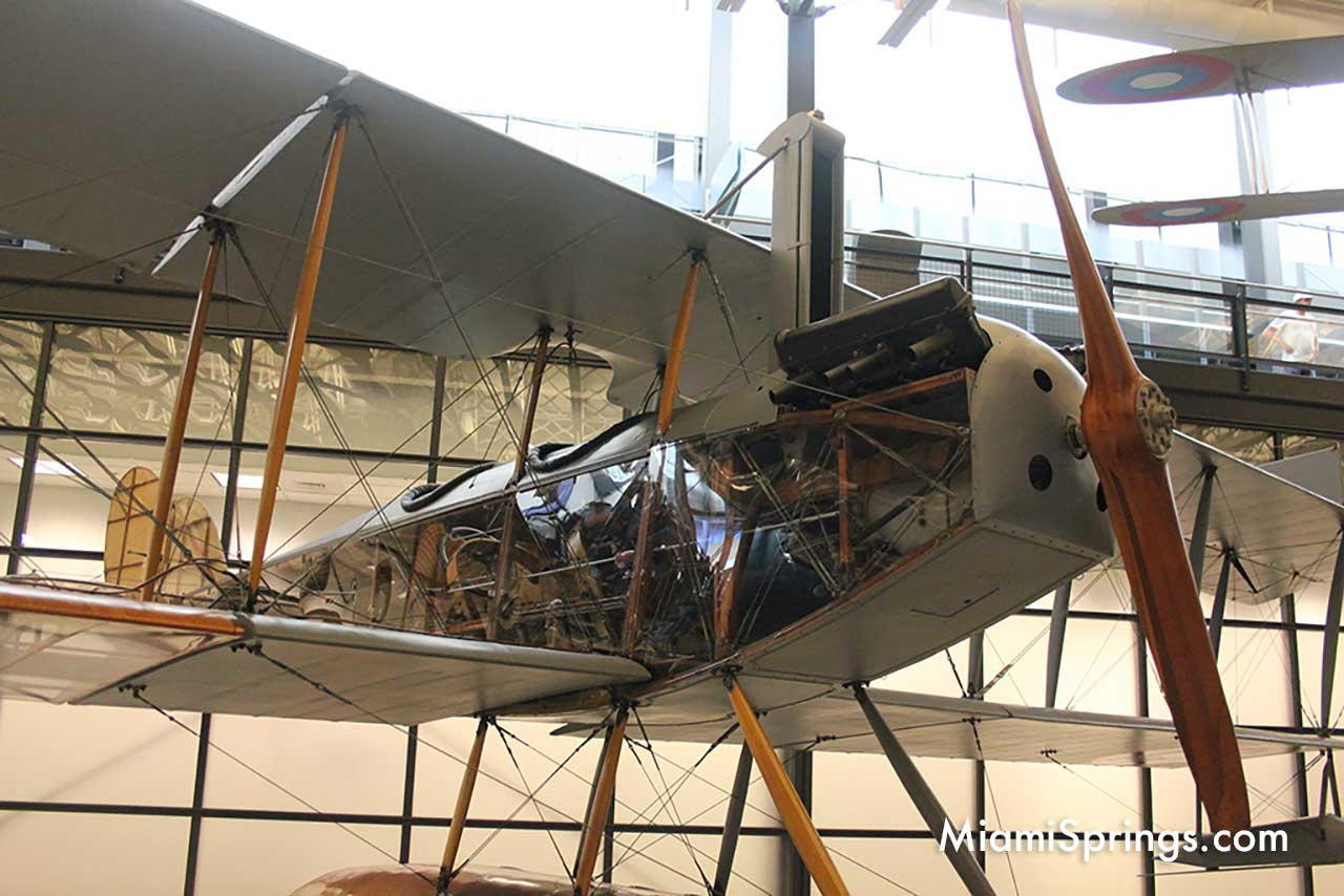 Curtiss N-9H Jenny at the Smithsonian Air and Space Museum